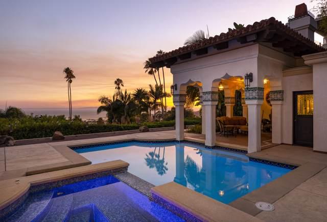 581 Las Alturas Rd, Santa Barbara, CA 93103 (MLS #19-3698) :: Chris Gregoire & Chad Beuoy Real Estate