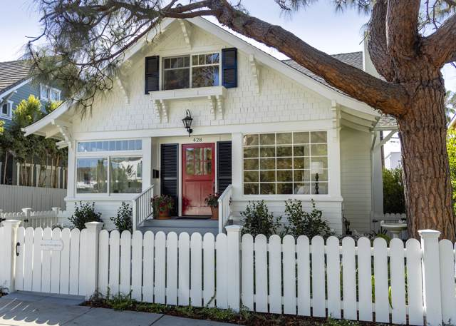 428 Corona Del Mar, Santa Barbara, CA 93103 (MLS #19-3769) :: Chris Gregoire & Chad Beuoy Real Estate