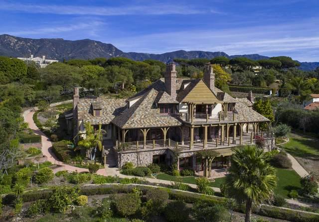 256 Las Entradas Drive, Santa Barbara, CA 93108 (MLS #20-1005) :: The Epstein Partners