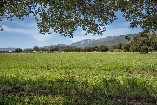 0 La Luna/El Roblar, Ojai, CA 93023 (MLS #20-1788) :: The Zia Group