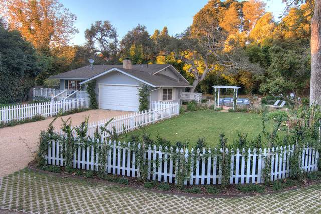 157 Loureyro Rd, Santa Barbara, CA 93108 (MLS #20-1799) :: The Epstein Partners