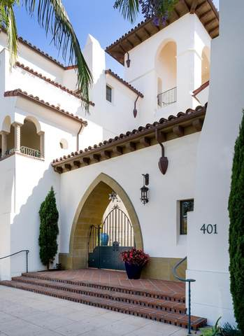 401 Chapala St #107, Santa Barbara, CA 93101 (MLS #20-1945) :: Chris Gregoire & Chad Beuoy Real Estate