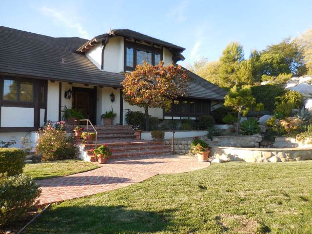 575 Braemar Ranch Ln, Santa Barbara, CA 93109 (MLS #20-207) :: Chris Gregoire & Chad Beuoy Real Estate