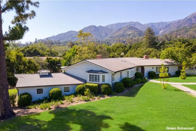 777 Rockbridge Rd, Montecito, CA 93108 (MLS #20-2362) :: Chris Gregoire & Chad Beuoy Real Estate