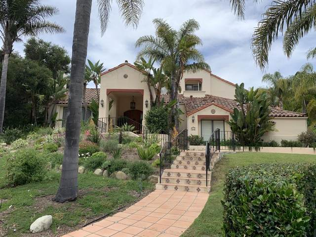 4114 Hidden Oaks Rd, Santa Barbara, CA 93105 (MLS #20-2510) :: The Zia Group