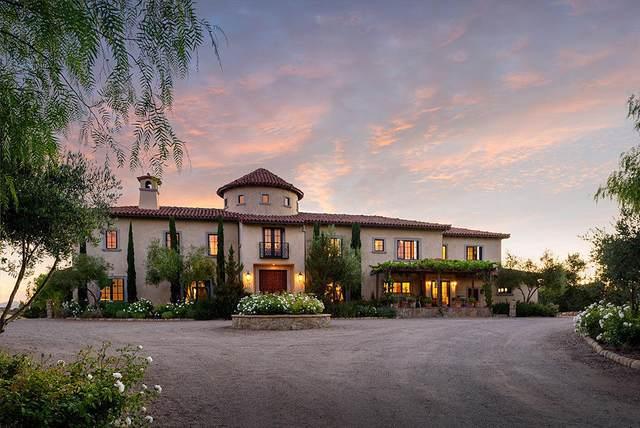 1721 N Refugio Rd, Santa Ynez, CA 93460 (MLS #20-2547) :: The Epstein Partners