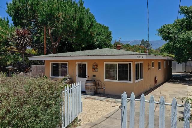 1014 Chino St, Santa Barbara, CA 93101 (MLS #20-2600) :: The Zia Group