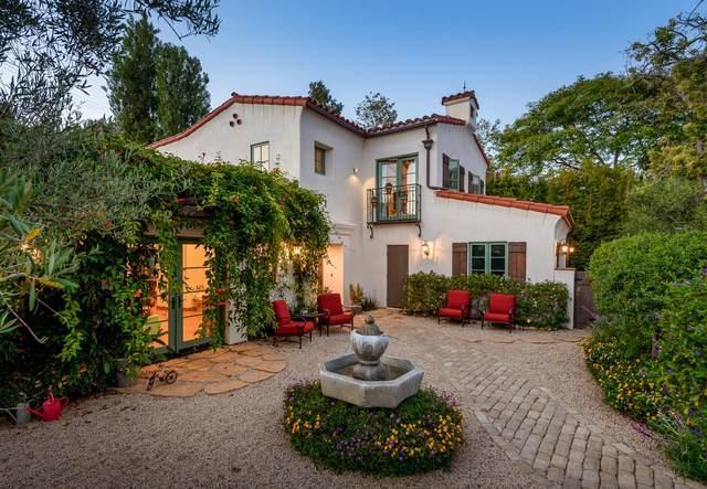 1342 Portesuello Ave, Santa Barbara, CA 93105 (MLS #20-2638) :: Chris Gregoire & Chad Beuoy Real Estate