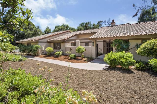 208 Eucalyptus Hill Dr, Santa Barbara, CA 93108 (MLS #20-2709) :: Chris Gregoire & Chad Beuoy Real Estate