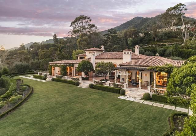 1590 E Mountain Dr, Montecito, CA 93108 (MLS #20-2793) :: The Zia Group