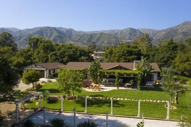 650 Stoddard Ln, Montecito, CA 93108 (MLS #20-2796) :: The Zia Group