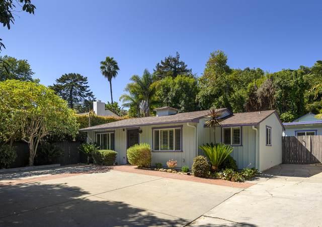 2812 Foothill Rd, Santa Barbara, CA 93105 (MLS #20-2997) :: The Zia Group