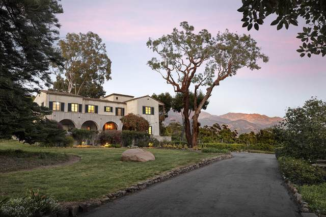 630 Hot Springs Rd, Montecito, CA 93108 (MLS #20-3145) :: Chris Gregoire & Chad Beuoy Real Estate