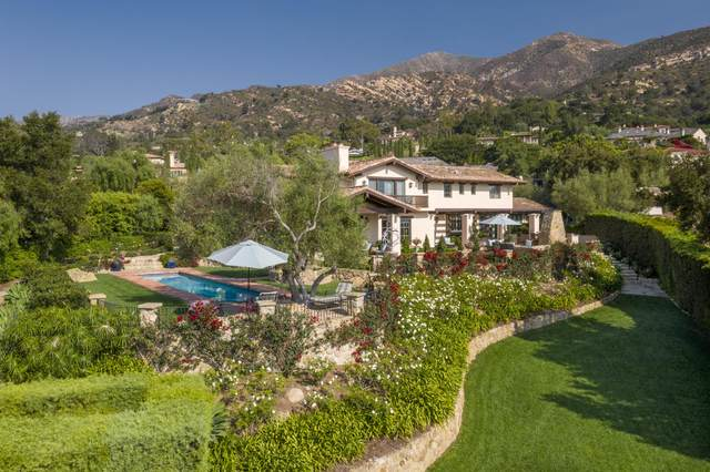 1445 E Mountain Dr, Montecito, CA 93108 (MLS #20-3825) :: Chris Gregoire & Chad Beuoy Real Estate