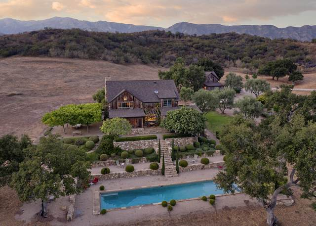 14209 De La Garrigue Rd, Ojai, CA 93023 (#20-4043) :: SG Associates