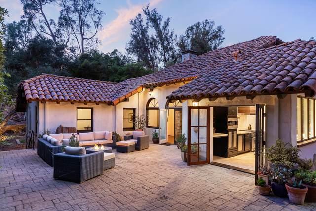 806 Camino Viejo Rd, Santa Barbara, CA 93108 (MLS #20-4143) :: Chris Gregoire & Chad Beuoy Real Estate