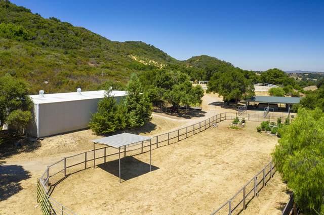 5100 San Marcos Pass Rd, Santa Barbara, CA 93105 (MLS #20-4568) :: Chris Gregoire & Chad Beuoy Real Estate