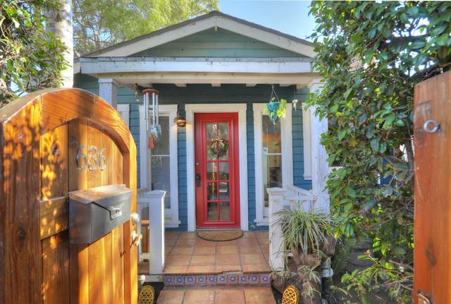 636 E Gutierrez St, Santa Barbara, CA 93103 (MLS #20-547) :: Chris Gregoire & Chad Beuoy Real Estate