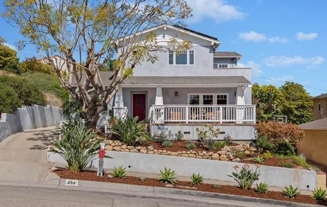 434 Terrace Rd, Santa Barbara, CA 93109 (MLS #21-1055) :: Chris Gregoire & Chad Beuoy Real Estate