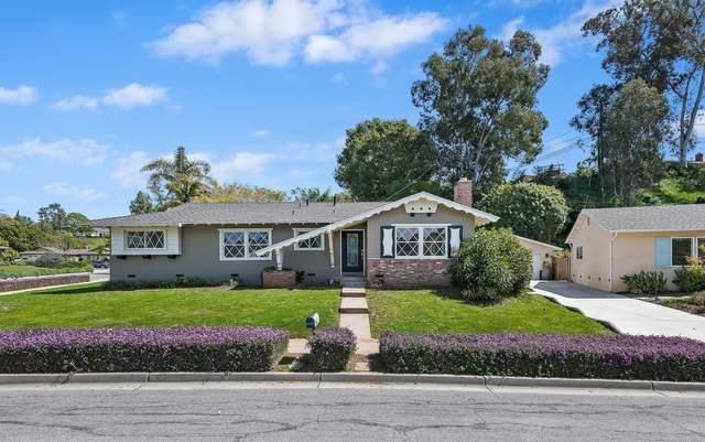 805 Palermo Dr, Santa Barbara, CA 93105 (MLS #21-1129) :: Chris Gregoire & Chad Beuoy Real Estate