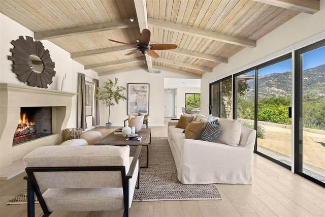 305 Sierra Vista, Montecito, CA 93108 (MLS #21-1192) :: Chris Gregoire & Chad Beuoy Real Estate