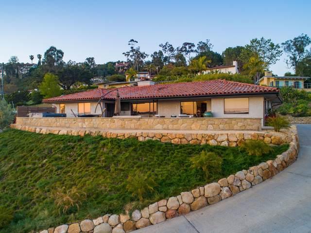 430 Alameda Padre Serra, Santa Barbara, CA 93103 (MLS #21-1211) :: Chris Gregoire & Chad Beuoy Real Estate