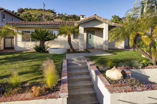 3054 Lucinda Ln, Santa Barbara, CA 93105 (MLS #21-1400) :: Chris Gregoire & Chad Beuoy Real Estate