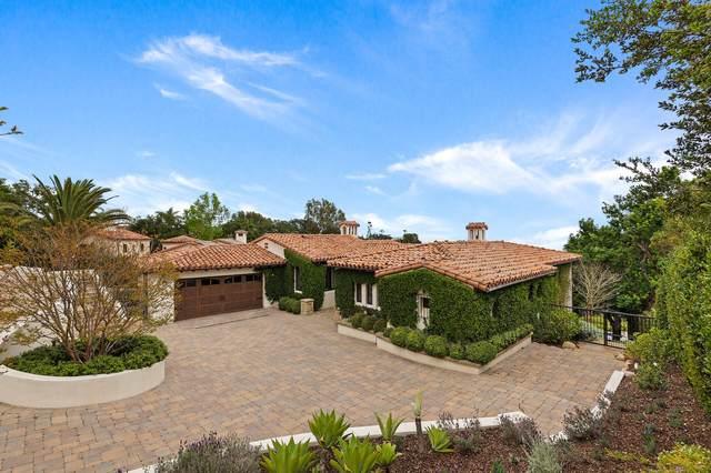 1117 Las Alturas Rd, Santa Barbara, CA 93103 (MLS #21-1488) :: The Zia Group