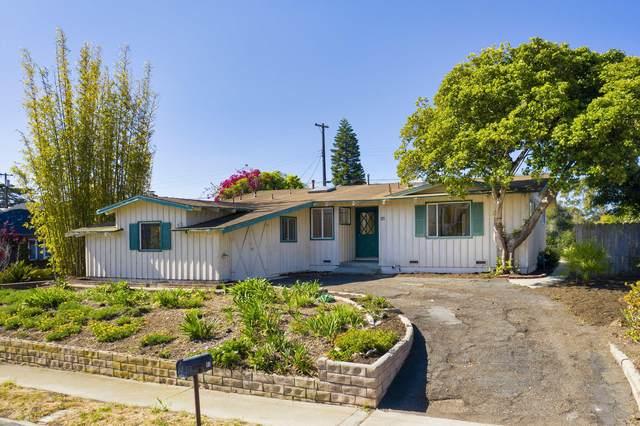93 Vista Del Mar Dr, Santa Barbara, CA 93109 (MLS #21-1530) :: The Zia Group