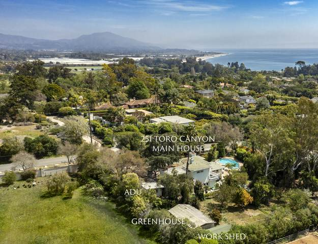 251 Toro Canyon Rd, Montecito, CA 93013 (MLS #21-1595) :: The Zia Group