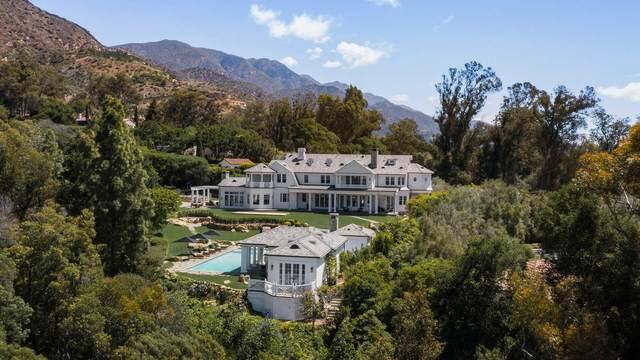 851 Buena Vista Dr, Montecito, CA 93108 (MLS #21-1669) :: The Epstein Partners