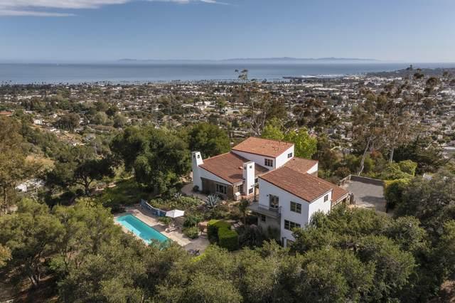 246 Las Alturas Rd, Santa Barbara, CA 93103 (MLS #21-1863) :: Chris Gregoire & Chad Beuoy Real Estate