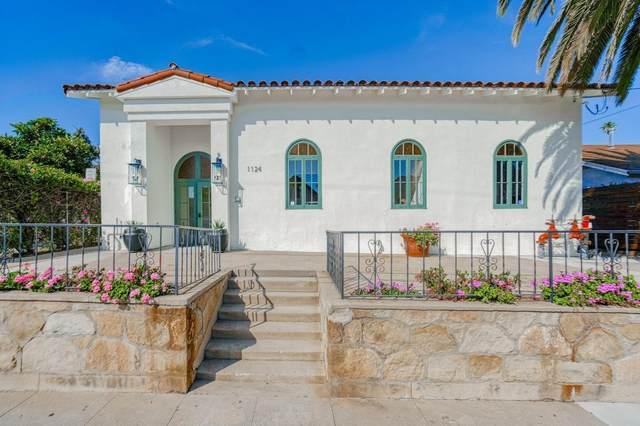 1124 Castillo St, Santa Barbara, CA 93101 (MLS #21-1913) :: Chris Gregoire & Chad Beuoy Real Estate