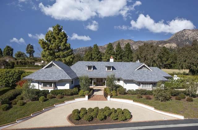 525 Las Fuentes Dr, Montecito, CA 93108 (MLS #21-197) :: The Epstein Partners