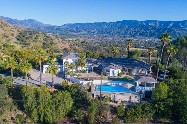 1489 Foothill Rd, Ojai, CA 93023 (MLS #21-1999) :: Chris Gregoire & Chad Beuoy Real Estate