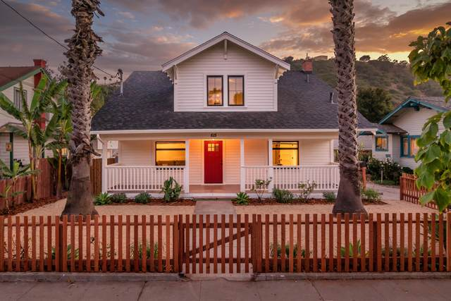 615 San Pascual St A,B,C, Santa Barbara, CA 93101 (MLS #21-2017) :: Chris Gregoire & Chad Beuoy Real Estate