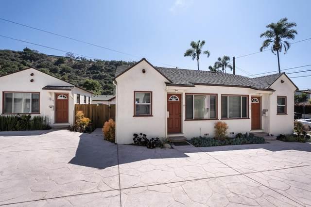 605 W Canon Perdido St, Santa Barbara, CA 93101 (MLS #21-2100) :: The Zia Group