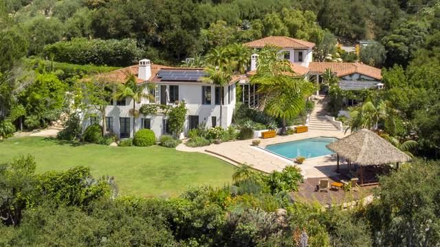 805 Park Hill Ln, Montecito, CA 93108 (MLS #21-2134) :: Chris Gregoire & Chad Beuoy Real Estate