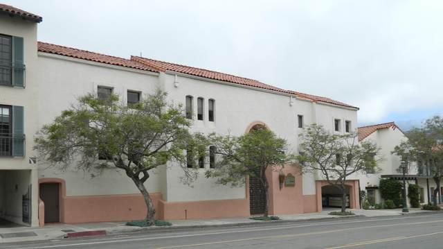 225 E Carrillo St, Santa Barbara, CA 93101 (MLS #21-2817) :: The Zia Group