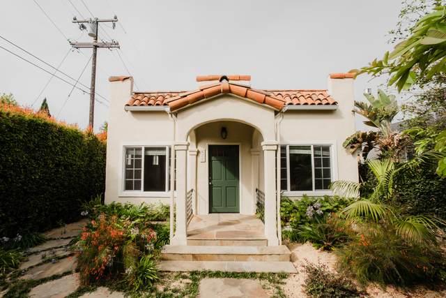 621 N Alisos St, Santa Barbara, CA 93103 (MLS #21-2847) :: The Epstein Partners
