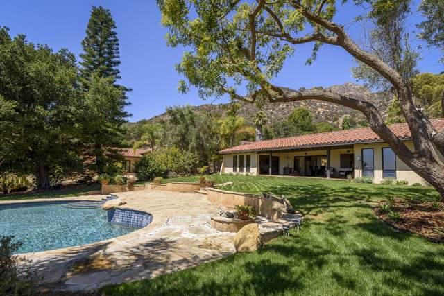 1040 Ladera Lane, Montecito, CA 93108 (MLS #21-3353) :: The Epstein Partners