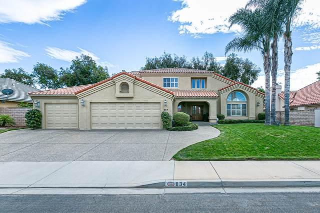 834 Fairway Vista Dr, Santa Maria, CA 93455 (MLS #21-3421) :: The Epstein Partners