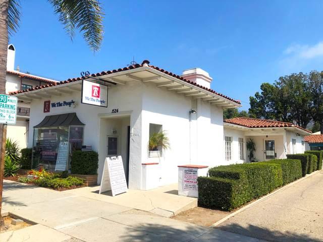 1524 State St, Santa Barbara, CA 93101 (MLS #21-3551) :: The Epstein Partners