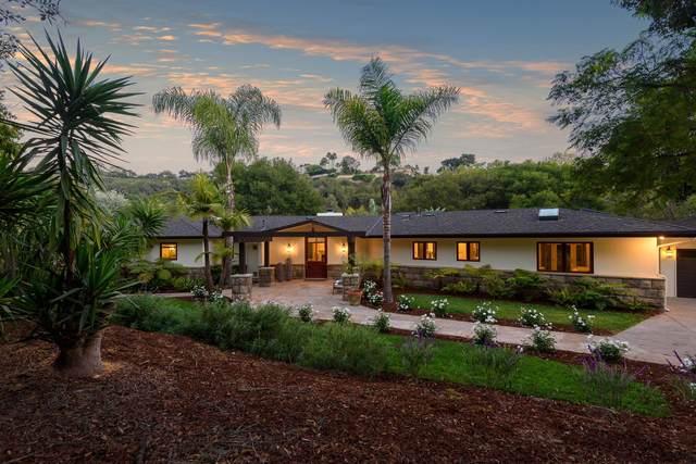 4375 Via Glorieta, Santa Barbara, CA 93110 (MLS #21-3566) :: The Epstein Partners