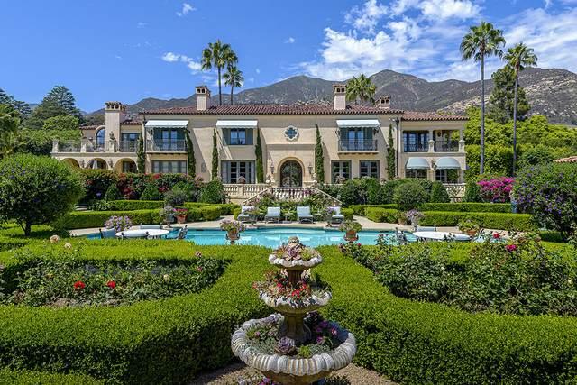 743 San Ysidro Rd, Montecito, CA 93108 (MLS #21-550) :: The Zia Group