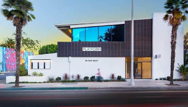126 E Haley St A18, Santa Barbara, CA 93101 (MLS #21-586) :: Chris Gregoire & Chad Beuoy Real Estate