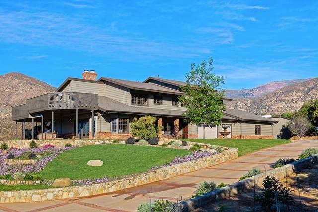 2871 Maricopa Hwy, Ojai, CA 93023 (MLS #21-646) :: Chris Gregoire & Chad Beuoy Real Estate