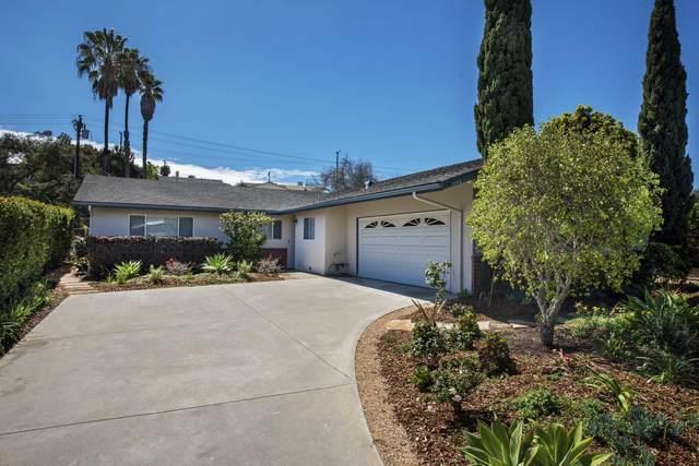 1143 Portesuello Ave, Santa Barbara, CA 93105 (MLS #21-703) :: The Zia Group