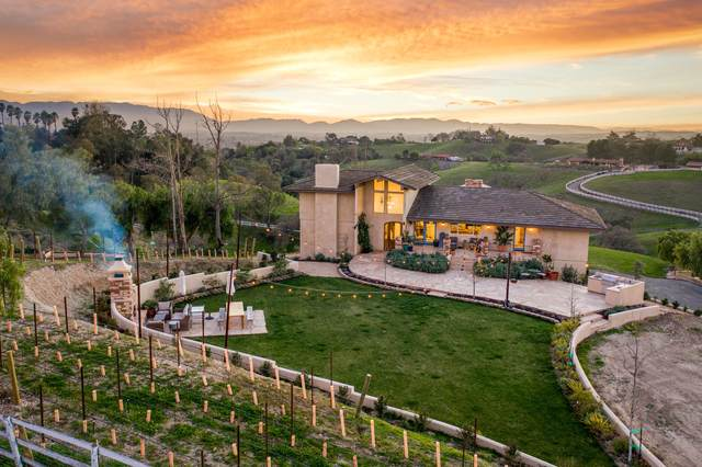 2860 Long Canyon Rd, Santa Ynez, CA 93460 (MLS #21-727) :: Chris Gregoire & Chad Beuoy Real Estate