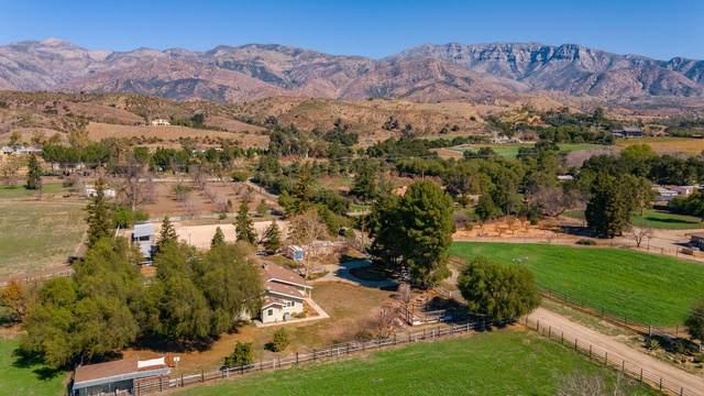 10152 Ojai Santa Paula Rd, Ojai, CA 93023 (MLS #21-735) :: Chris Gregoire & Chad Beuoy Real Estate